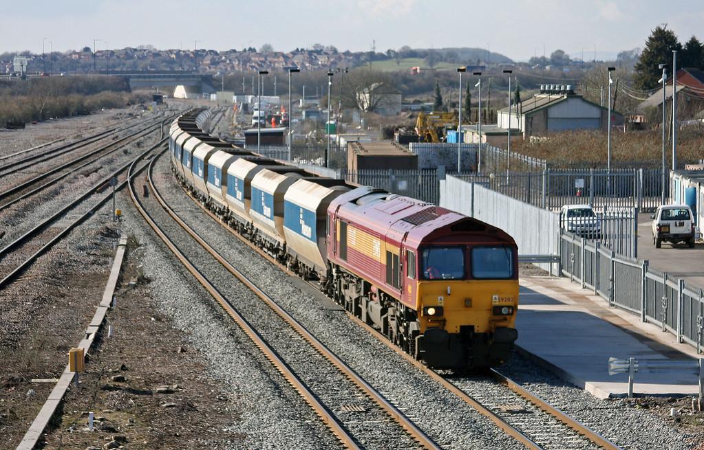 59202, 12.40 Machen-West Drayton, Severn Tunnel Junction, 1-3-10.
