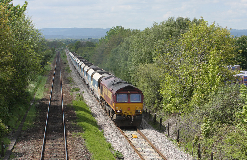66146, 12.40 Machen-West Drayton, Cattybrook, near Pilning, 17-5-10.