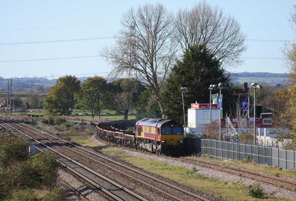66018, 12.00 Minehead-Whatley Quarry, Norton Fitzwarren, near Taunton, 10-11-10.