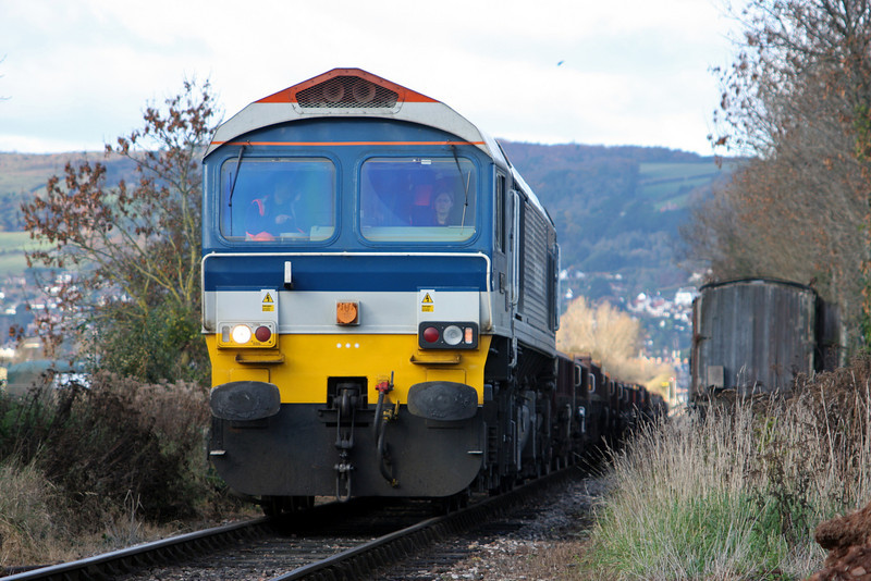 59103, 12.00 Minehead-Whatley Quarry, Dunster, 25-11-10.