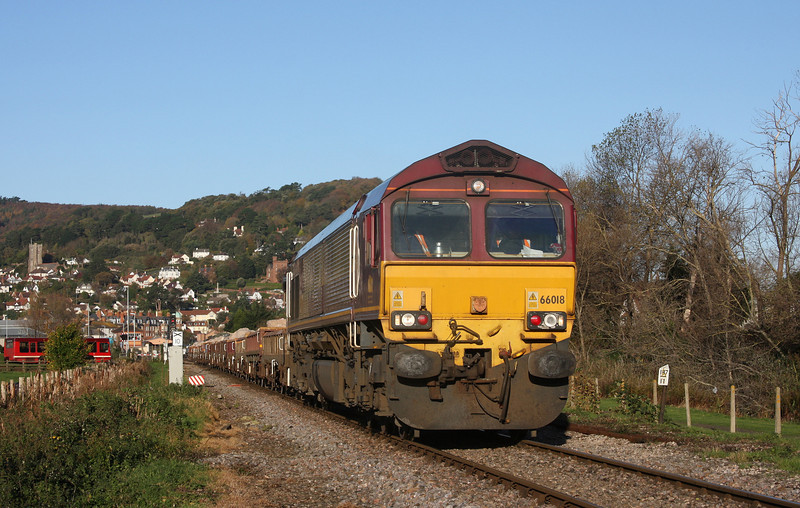 66018, 05.15 Westbury-Minehead, Minehead Marsh Common, 10-11-10.