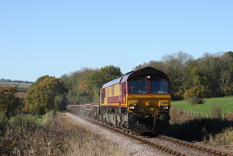 66018, 12.00 Minehead-Whatley Quarry, Leigh Wood, near Stogumber, 10-11-10.