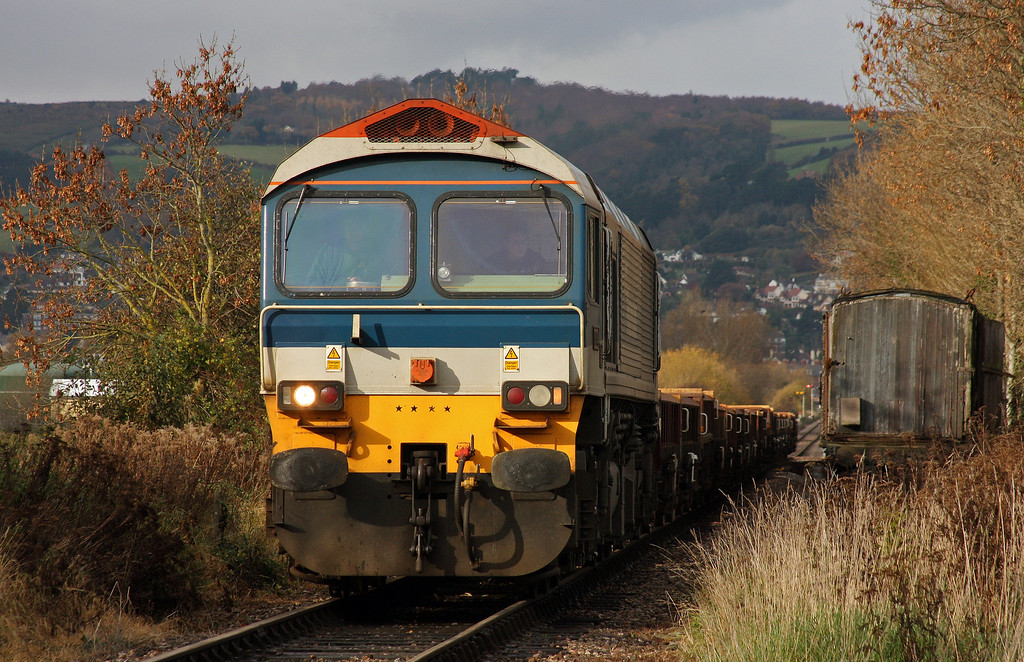 59104, 12.00 Minehead-Whatley Quarry, Dunster, 24-11-10.