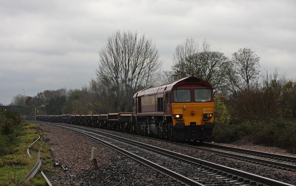 59205, 12.00 Minehead-Whatley Quarry, Bathpool, Taunton, 9-11-10.