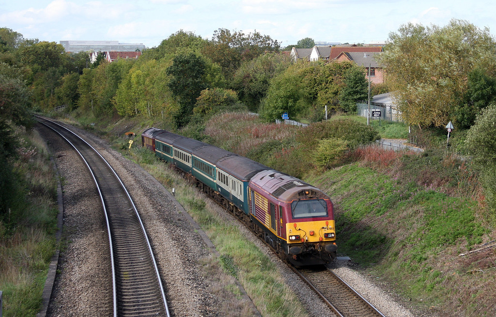 67003/67019, 14.00 Cardiff Central-Taunton, Patchway, Bristol, 7-10-10.