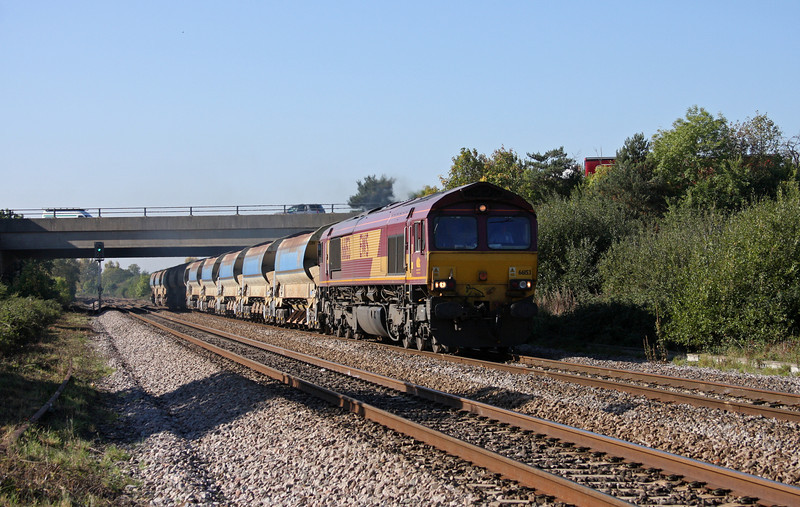66153, 10.00 Goonbarrow Junction-Westbury, Rexhill Farm, Bathpool, Taunton, 11-10-10.