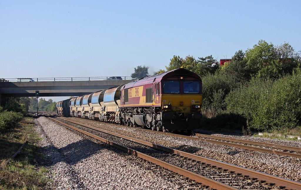 66153, 10.00 Goonbarrow Junction-Westbury, Rexhill Farm, Bathpool, Taunton, 11-10-10.