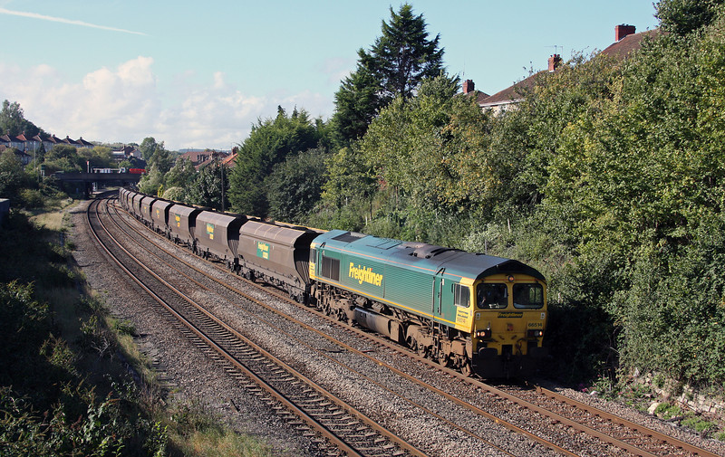 66514, 10.50 Portbury-Rugeley Power Station, Parson Street, Bristol, 7-10-10.