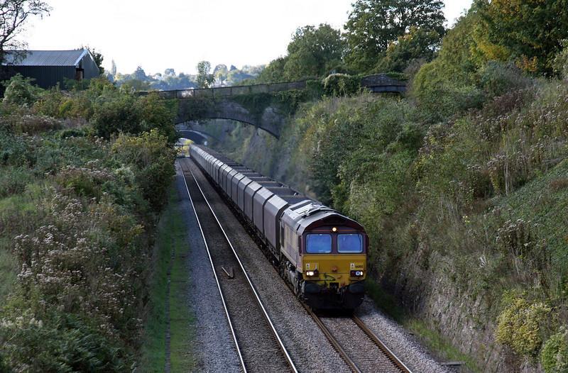 66188, 11.01 Margam-Redcar, Sedbury Lane, Chepstow, 20-10-10.