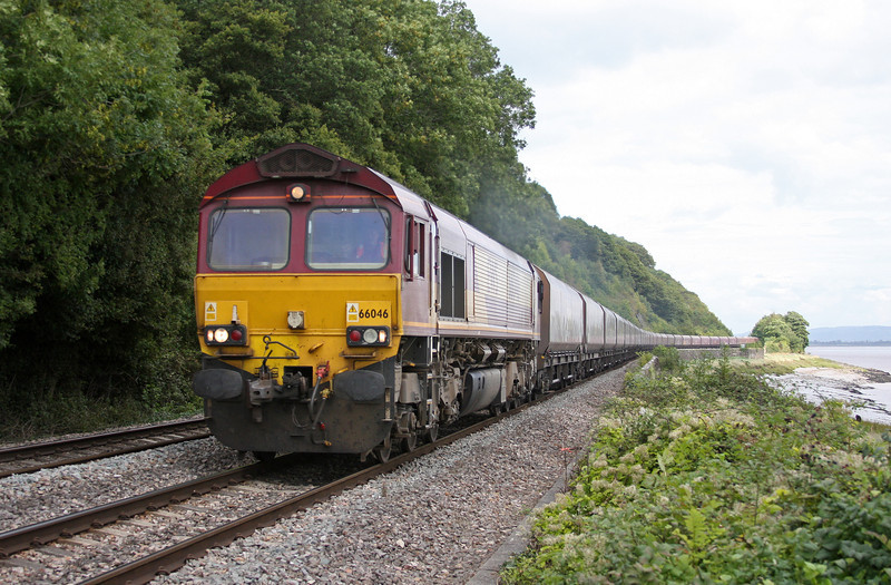 66046, 04.20 Redcar-Margam,  Gatcombe, near Lydney, 9-9-10 .