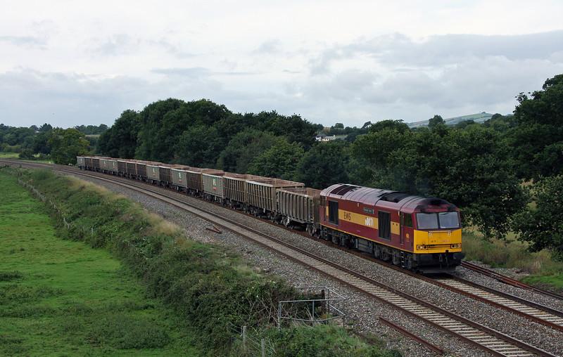 60071, 11.58 Exeter Riverside Yard-Westbury Yard, Ellerhayes, Silverton, 23-9-10.