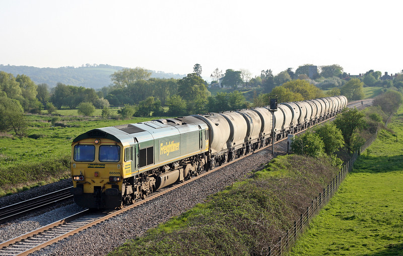 66509, 14.43 Moorswater Lafarge-Westbury Lafarge, Rewe, near Exeter, 21-4-11.