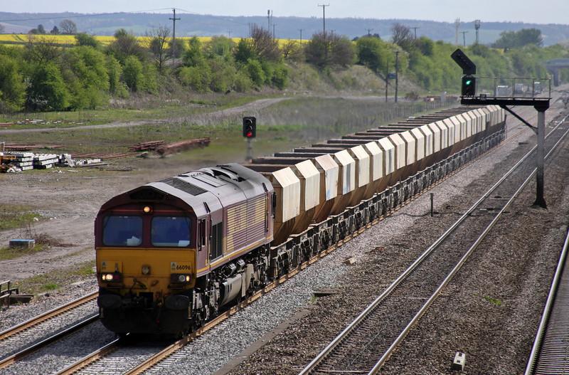66096, 10.47 Hayes-Moreton-on-Lugg, Didcot, 12-4-11.