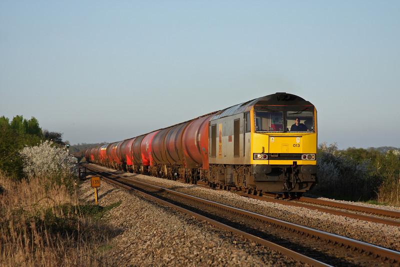 60013, 17.22 Westerleigh-Robeston, Alvington, near Lydney, 8-4-11.