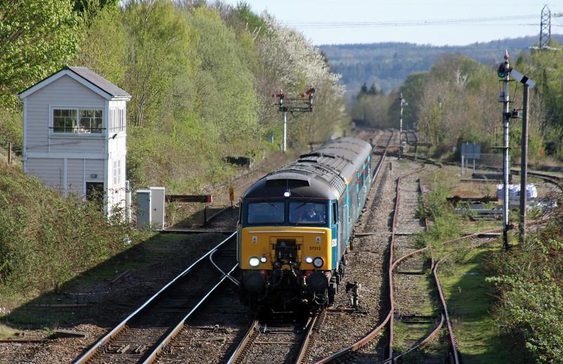 57313, 16.15 Cardiff Central-Holyhead, Abergavenny, 8-4-11.