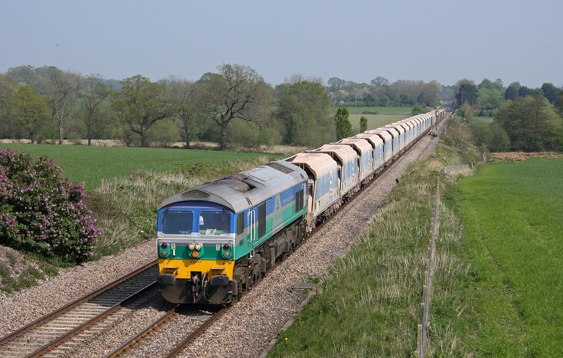 59005, 12.40 Acton Yard-Merehead Quarry, Woodborough, near Pewsey, Wiltshire, 19-4-11.