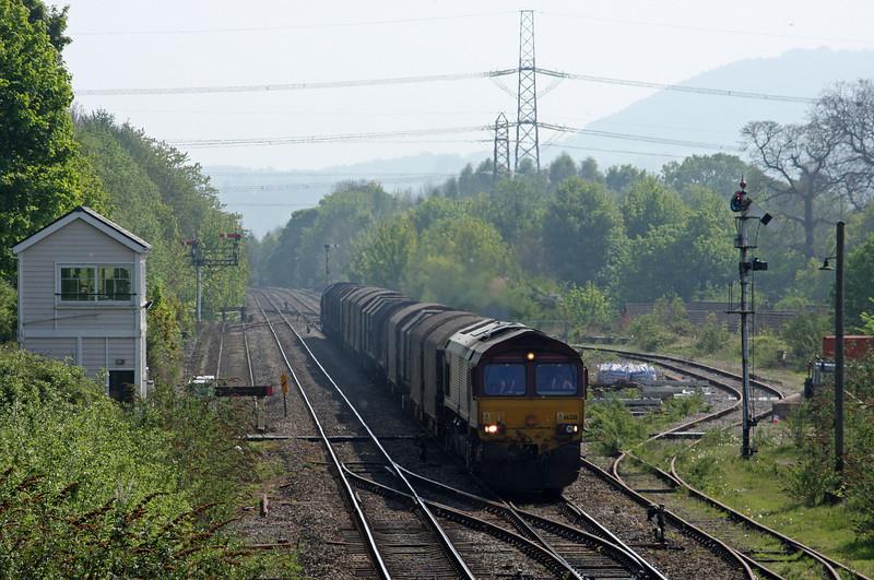 66238, 13.15 Llanwern-Dee Marsh, Abergavenny, 20-4-11.