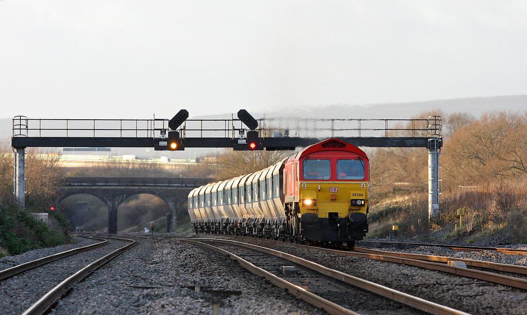 59206, 12.40 Machen-West Drayton, Pilning, 7-12-11.