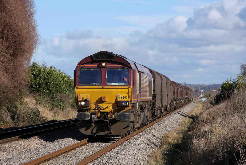 66079, 09.39 Round Oak-Margam, Woolaston, near Lydney, 14-2-11.