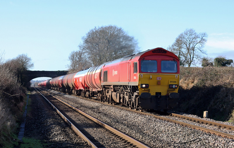 59206, 05.05 Robeston-Westerleigh, Woolaston, near Lydney, 14-2-11.