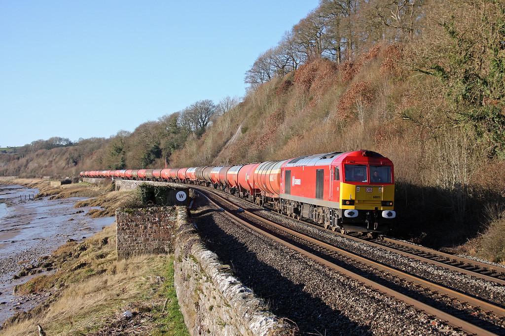 60011, 05.05 Robeston-Westerleigh, Gatcombe, 18-1-11.