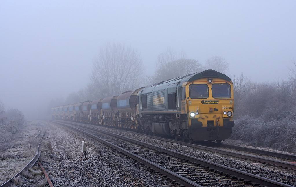 66548, 09.19 Taunton Fairwater Yard-Westbury Virtual Quarry,Bathpool, Taunton, 21-1-11.