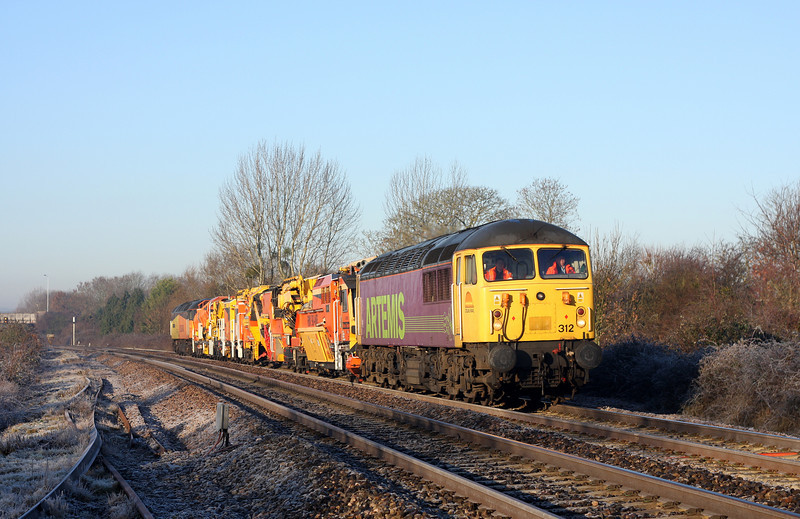 56312/47739, 07.35 Plymouth Tavistock Junction Yard-West Ealing, Bathpool, Taunton, 20-1-11.