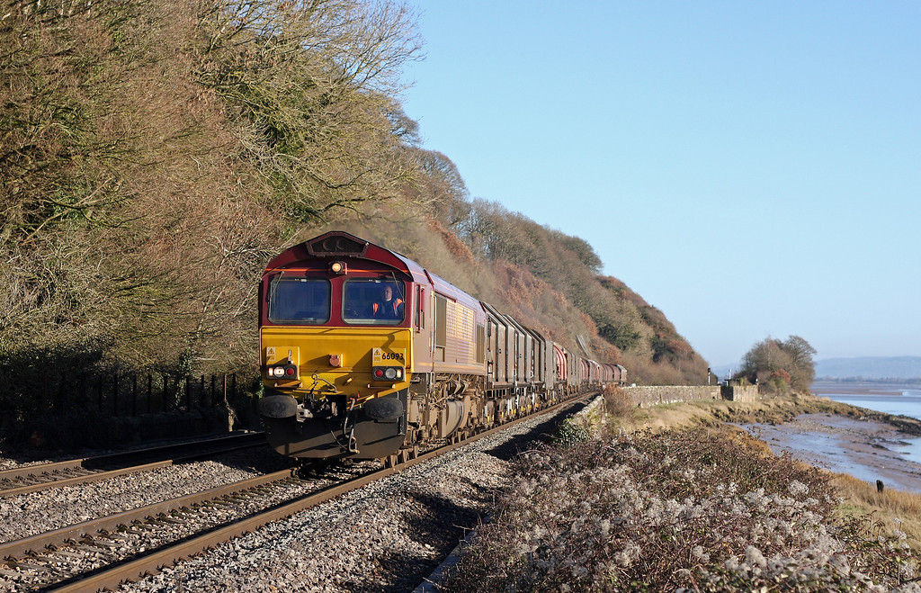 66093, 09.23 Round Oak-Margam, Gatcombe, 18-1-11.