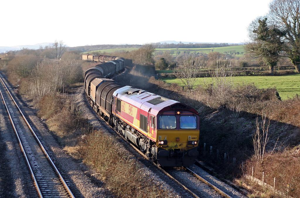 66162, 11.53 Margam-Round Oak, Llandevenny, near Llanwern, 19-1-11.