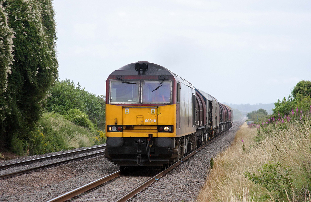 60010, 09.23 Round Oak-Margam, Woolaston, near Lydney, 7-7-11.