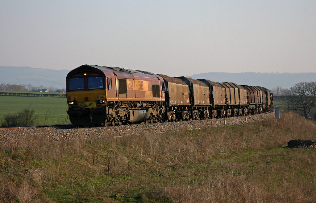 66133, 11.51 Margam-Round Oak, Tredington, near Tewkesbury, 7-3-11.