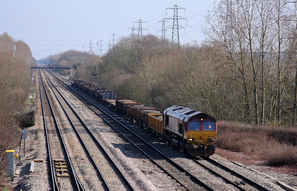 66204, 11.25 Westbury Yard-Newport Alexandra Dock Junction,<br /> Llanwern West Junction, 4-3-11.