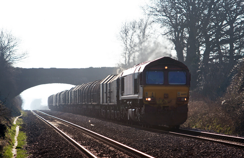 66015, 11.51 Margam-Round Oak Woolaston, near Lydney, 4-3-11.