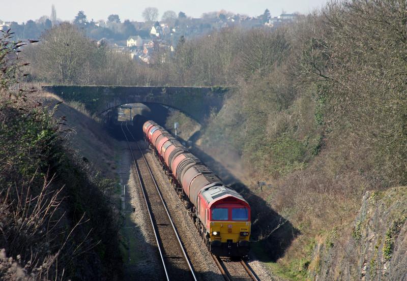 59206, 05.05 Robeston-Westerleigh, Sedbury Lane, Chepstow, 4-3-11.