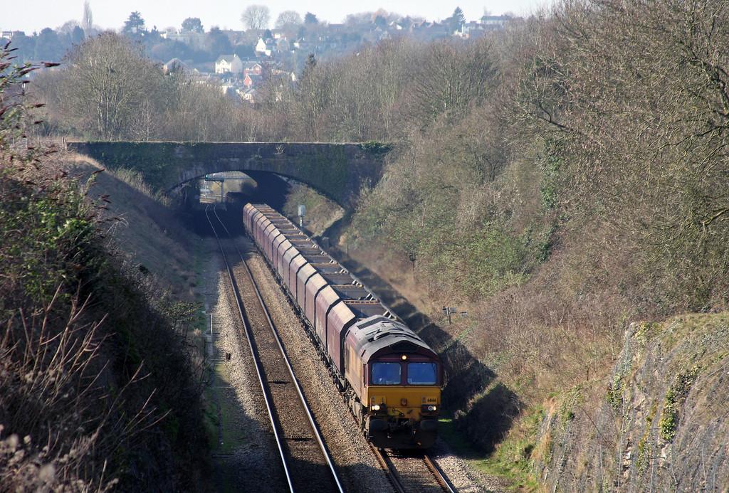 66166, 08.55 Margam-Redcar, Sedbury Lane, Chepstow, 4-3-11.