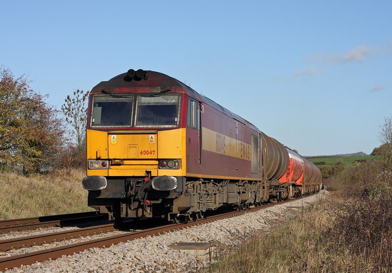 60049, 05.05 Robeston-Westerleigh, Wickwar, Gloucestershire, 17-11-11.