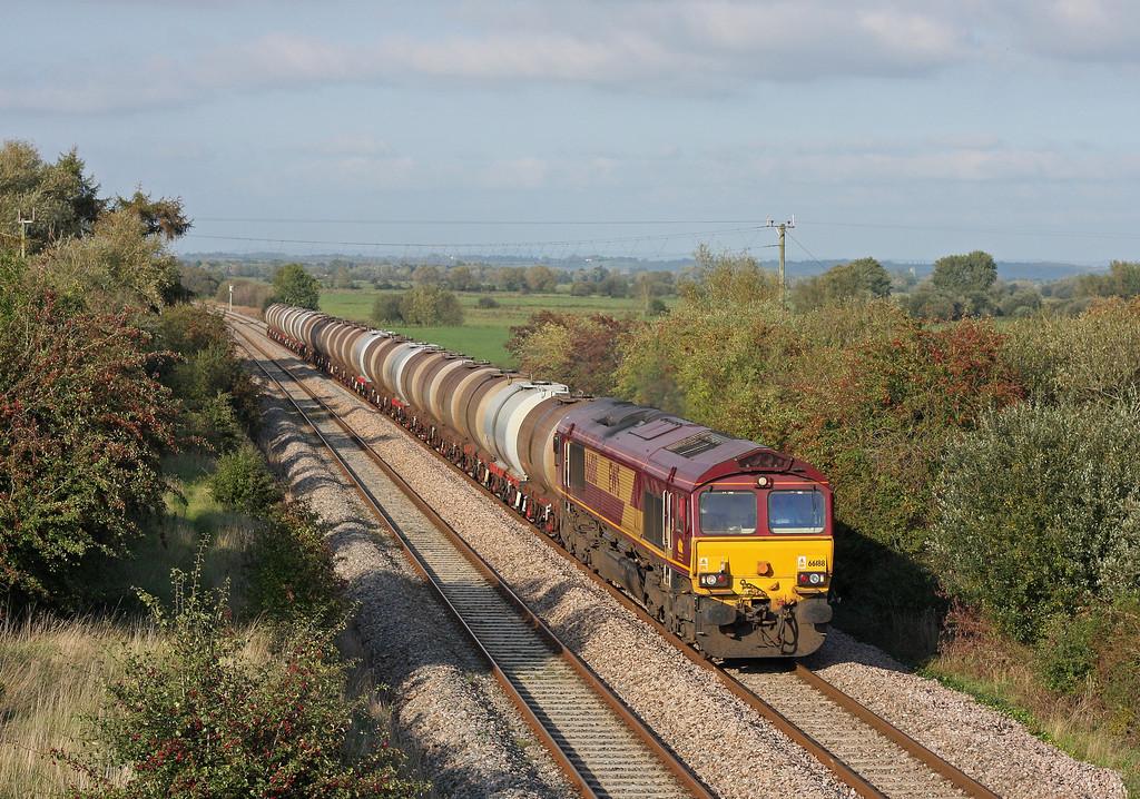 66188, 15,31 Bristol St Philip's Marsh-Plymouth Tavistock Junction Yard,<br /> Banklands, near Durston, 27-9-11.