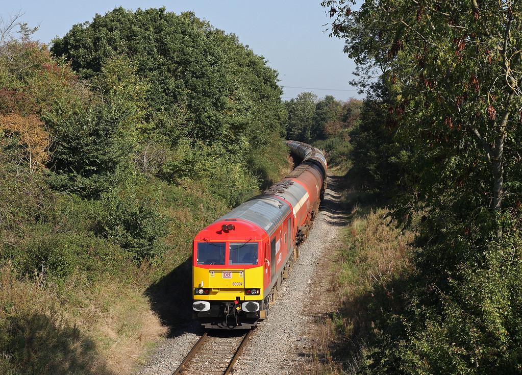60007, 05.05 Robeston-Westerleigh, approaching Westerleigh, near Bristol, 30-9-11.