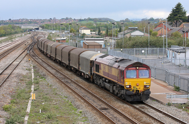 66086, 10.58 Margam-Dollands Moor, Severn Tunnel Junction, 24-4-12.