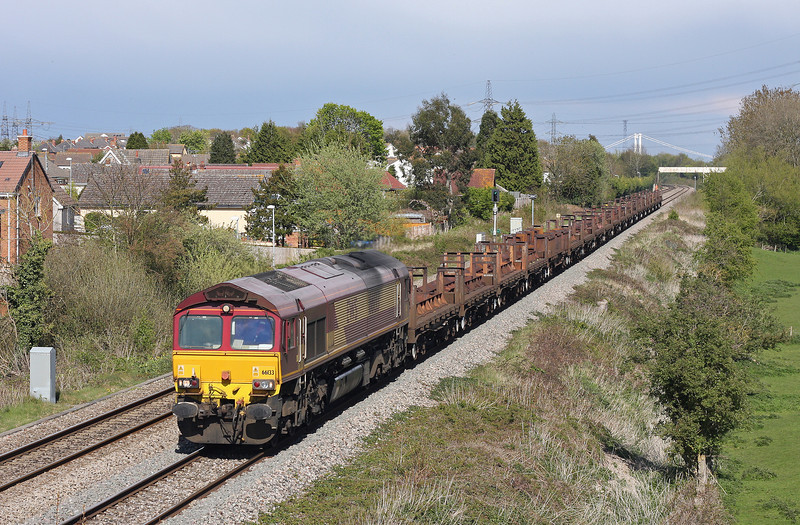 66133, 10.23 Corby-Margam, Portskewett, near Caldicot, 24-4-12.