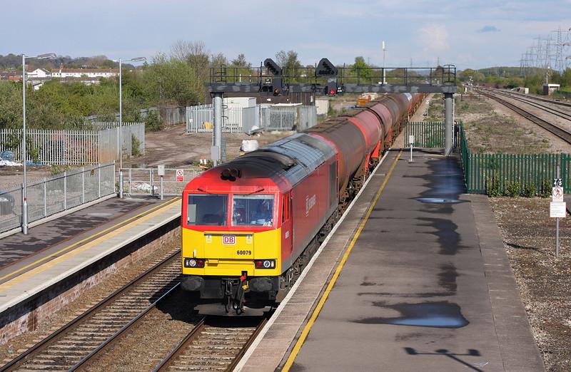 60079, 13.35 Theale-Robeston, Severn Tunnel Junction, 24-4-12.
