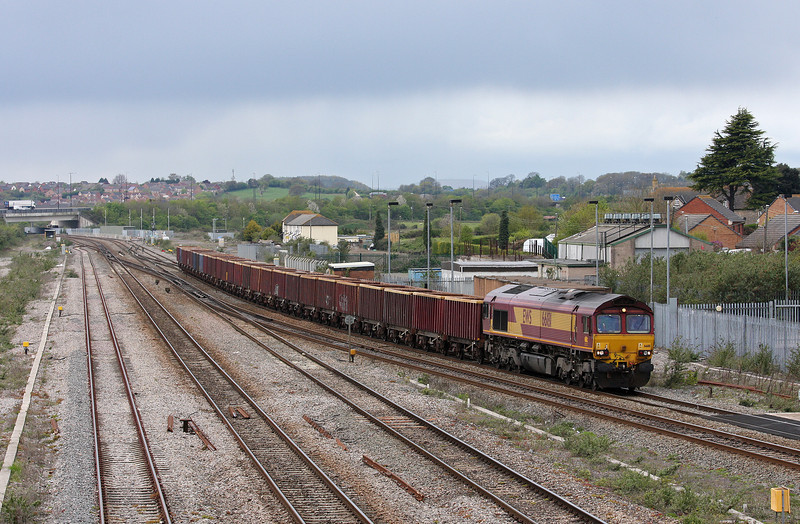 66181, 12.48 Moreton-on-Lugg-Acton Yard, Severn Tunnel Junction, 24-4-12.