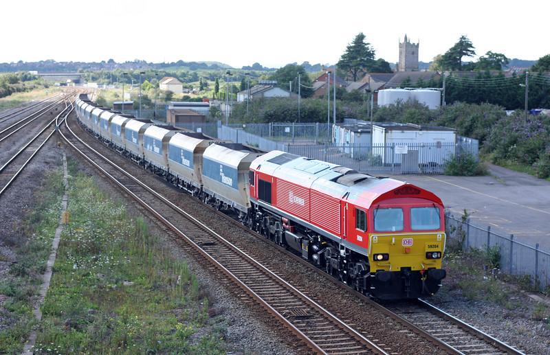 59204, 12.15 Machen-West Drayton, Severn Tunnel Junction, 20-8-12.