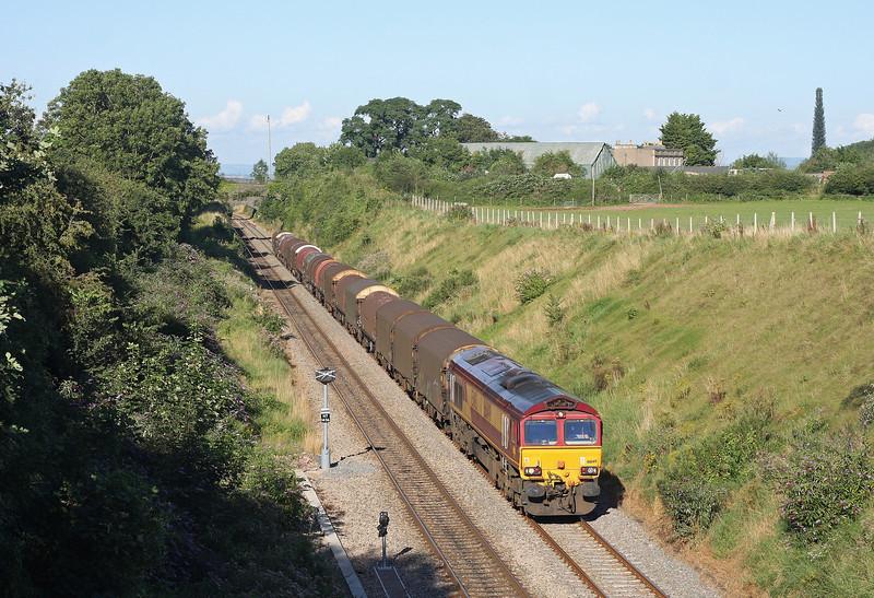 66149, 14.52 Round Oak-Margam, Wye Valley Junction, Chepstow, 20-8-12.