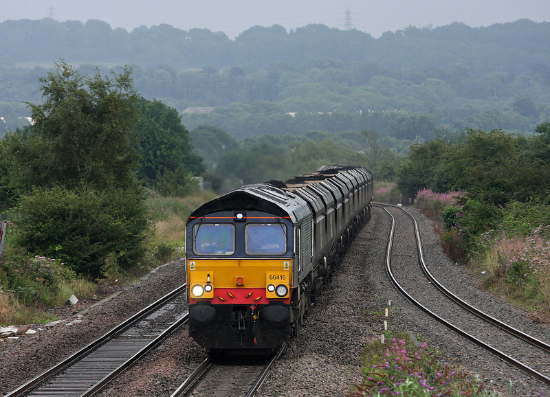 66415, 08.25 Portbury-Rugeley Power Station, Pilning, 20-8-12.