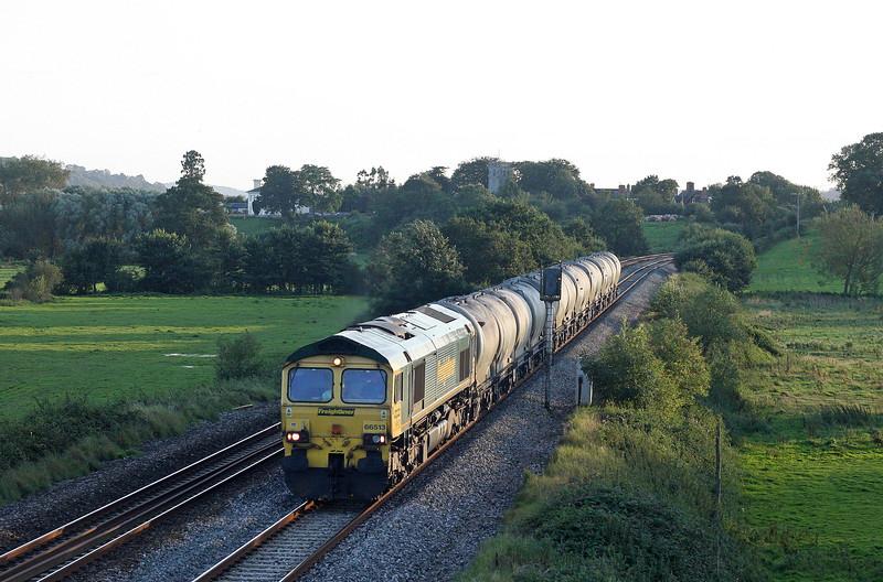 66513, 14.43 Moorswater Lafarge-Westbury Lafarge, Rewe, near Exeter, 30-8-12.