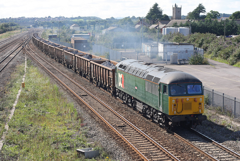 56303, 12.34 Cardiff Tidal Sidings-Rotherham Steel Terminal, via Didcot, Severn Tunnel Junction, 20-8-12.