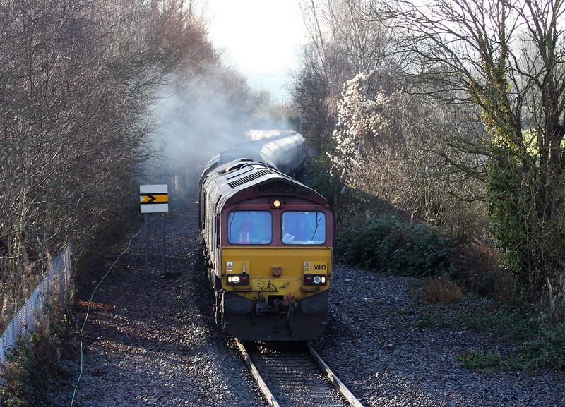 66147, 01.10 Ratcliffe Power Station-Portbury, Ashton, Bristol, 18-12-12.