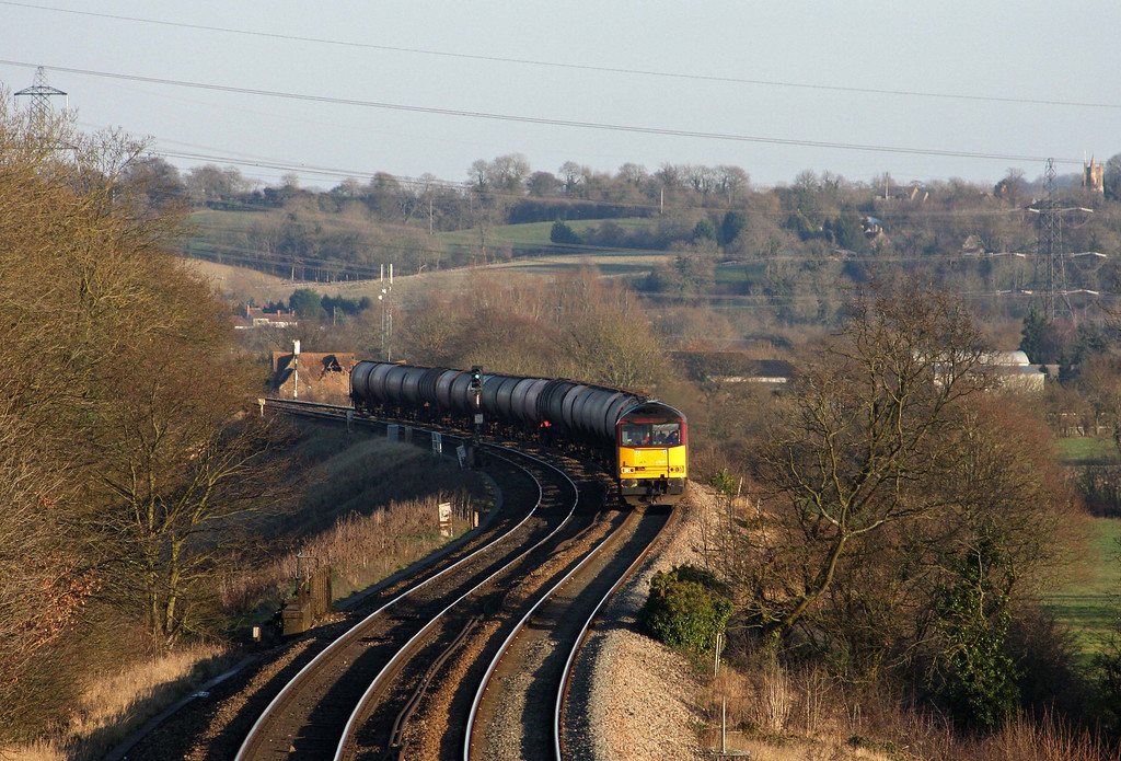 60071, 13.35 Theale-Robeston, Coalpit Heath, near Bristol, 2-2-12.