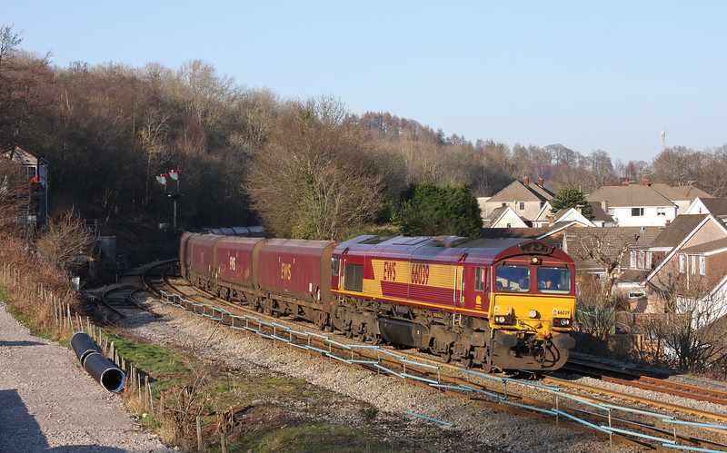 66039, 14.00 Cwmbargoed Opencast Mine-Aberthaw Power Station, Ystrad Mynach, 1-2-12.